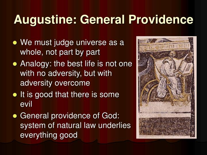 Augustine: General Providence