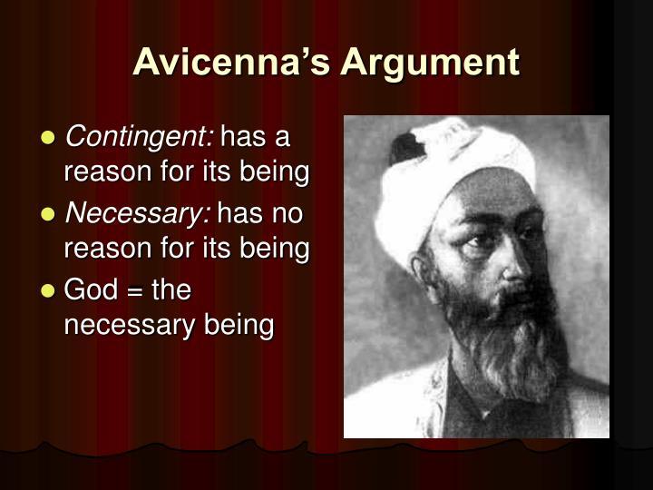 Avicenna's Argument