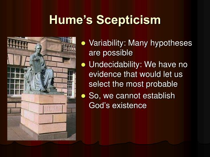 Hume's Scepticism