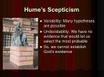 hume s scepticism