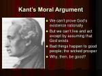 kant s moral argument