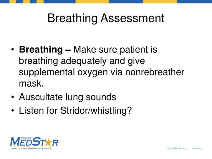 Breathing Assessment