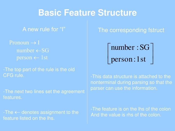 Basic Feature Structure