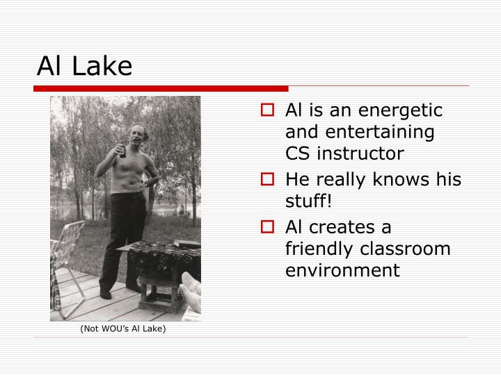 Al Lake