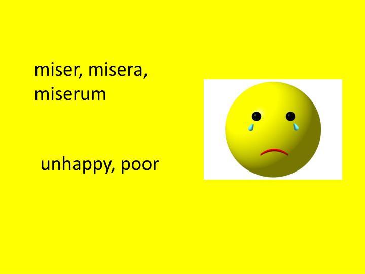 miser,