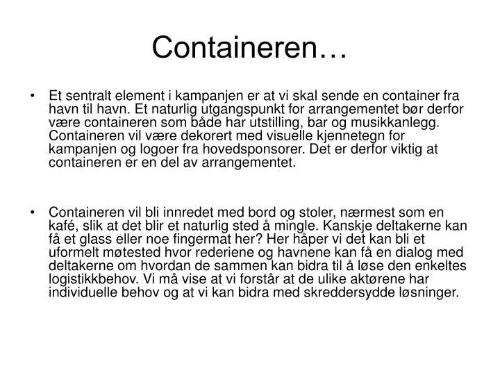 Containeren…