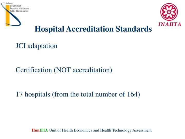 Hospital Accreditation Standards