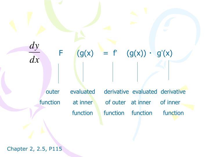 F      (g(x)    =  f