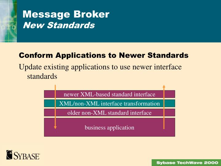 Conform Applications to Newer Standards