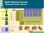 multi channel access financial fusion server
