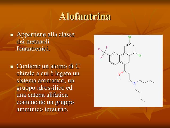 Appartiene alla classe dei metanoli fenantrenici.