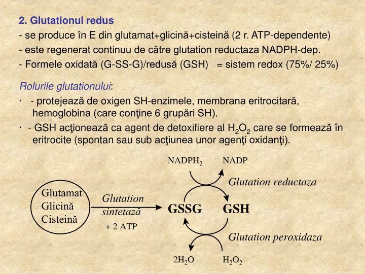 2. Glutationul redus