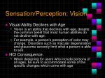 sensation perception vision4