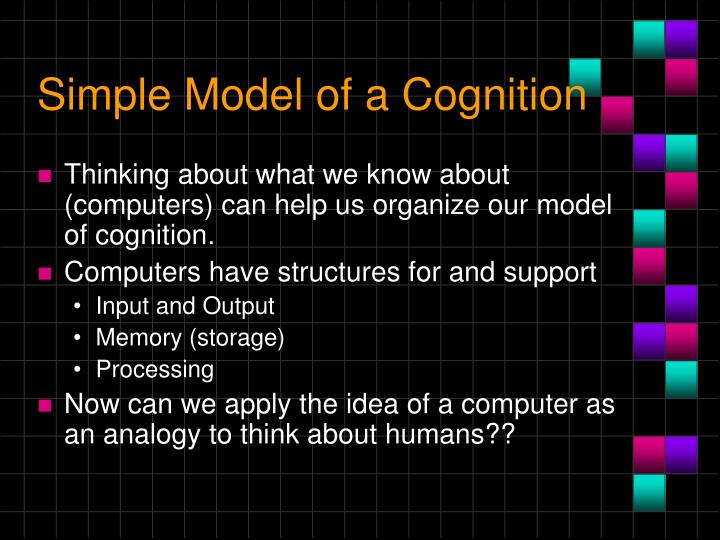 Simple Model of a Cognition