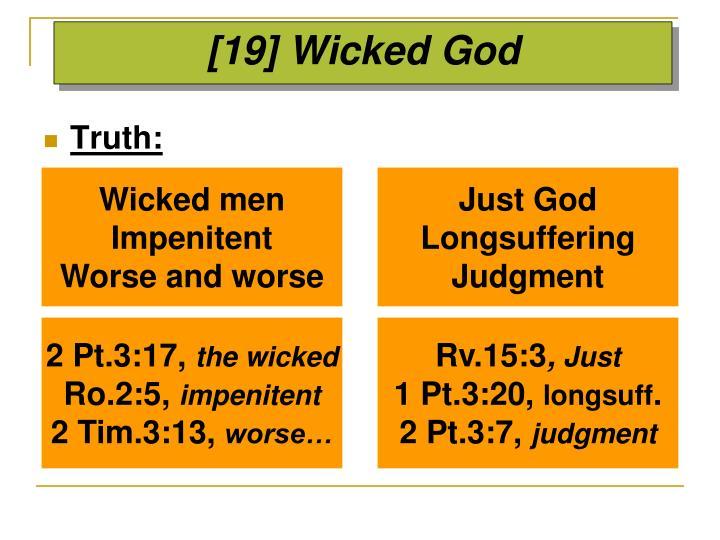 [19] Wicked God