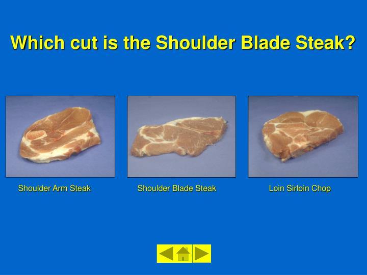 Shoulder Blade Steak