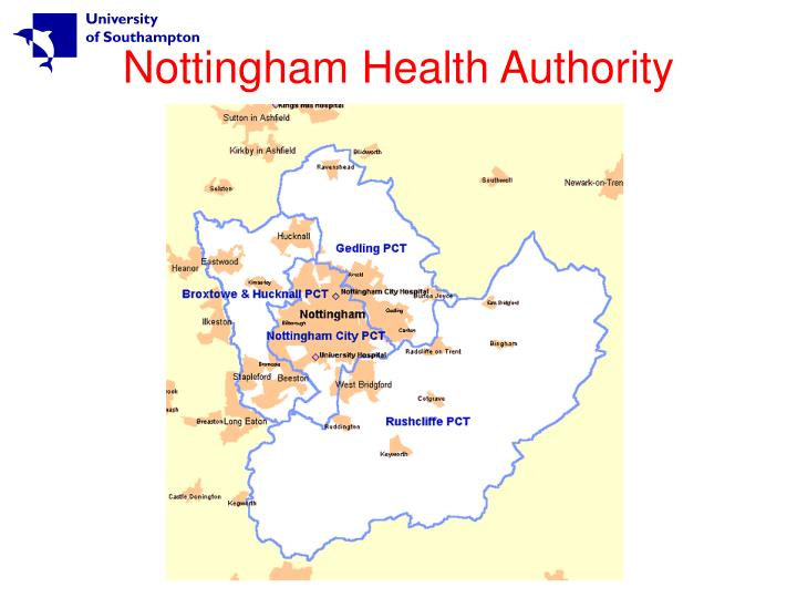 Nottingham Health Authority