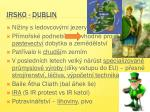 irsko dublin