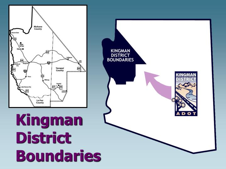 Kingman district boundaries