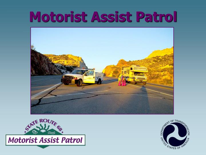 Motorist Assist Patrol