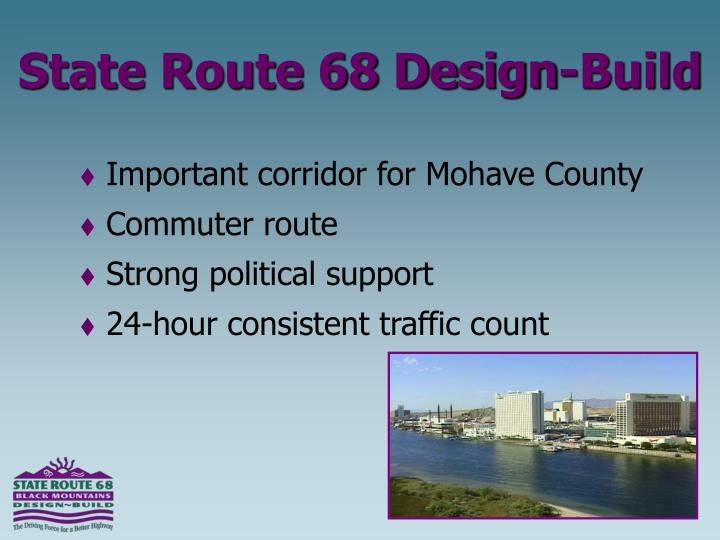 Important corridor for Mohave County