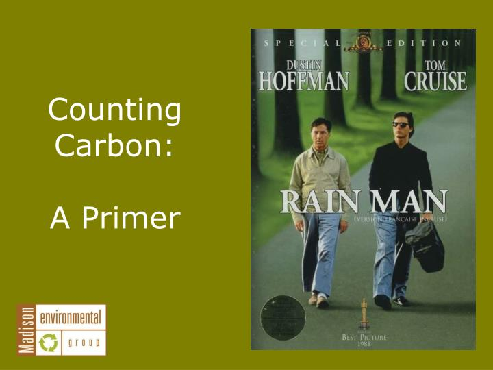 Counting Carbon: