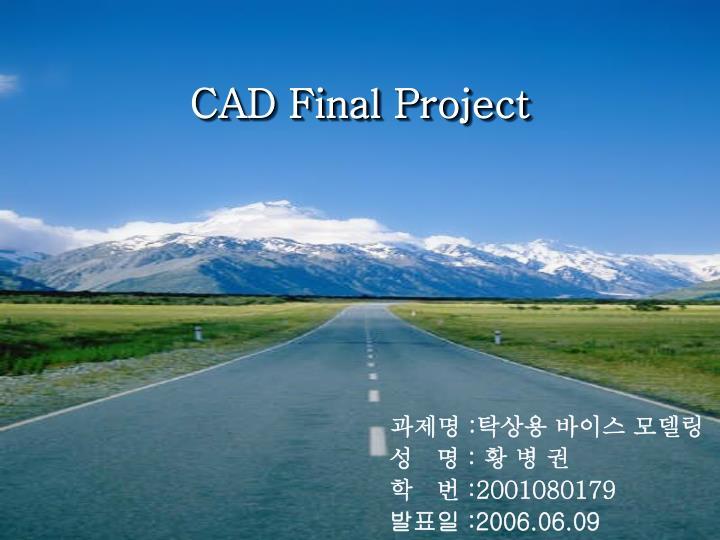CAD Final Project
