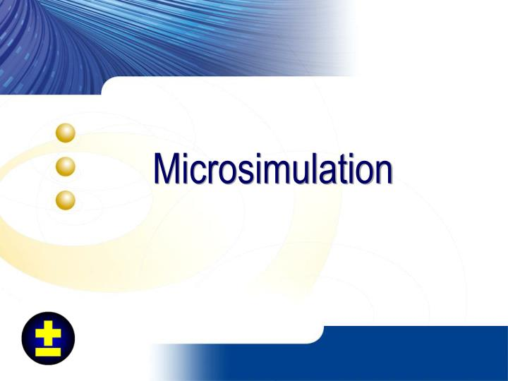 Microsimulation