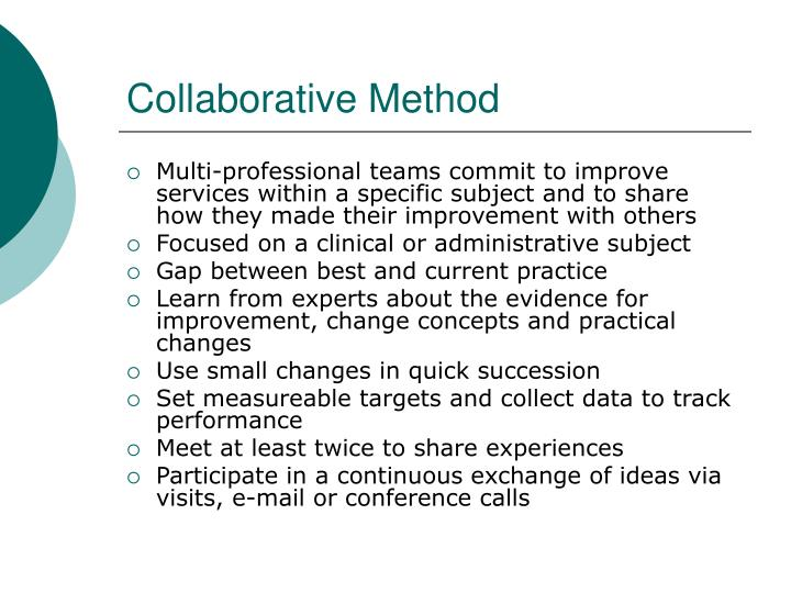 Collaborative method