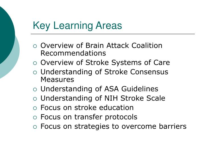 Key Learning Areas