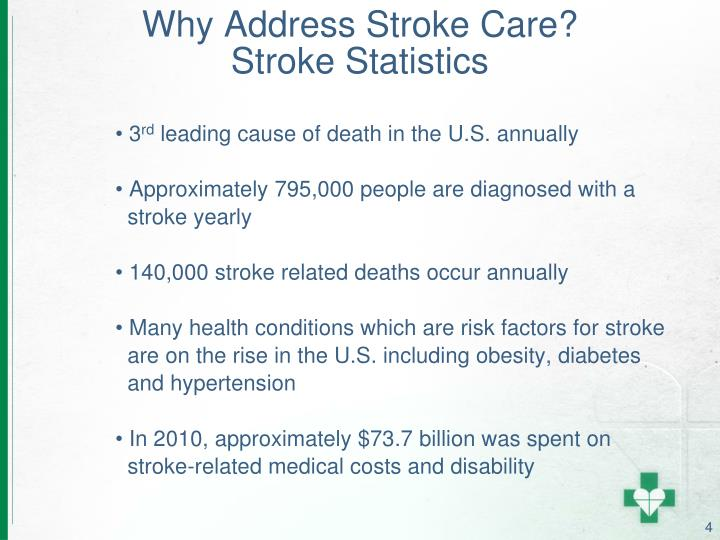 Why Address Stroke Care?