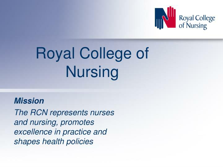 role of nmc and the rcn