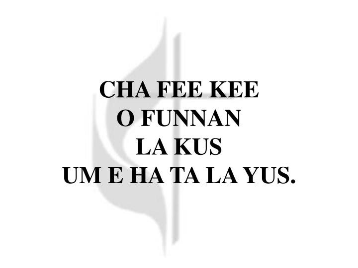 CHA FEE KEE