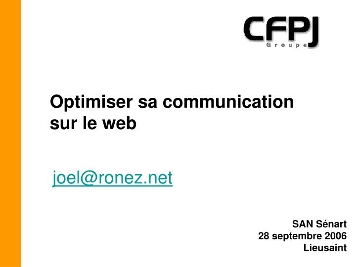Optimiser sa communication