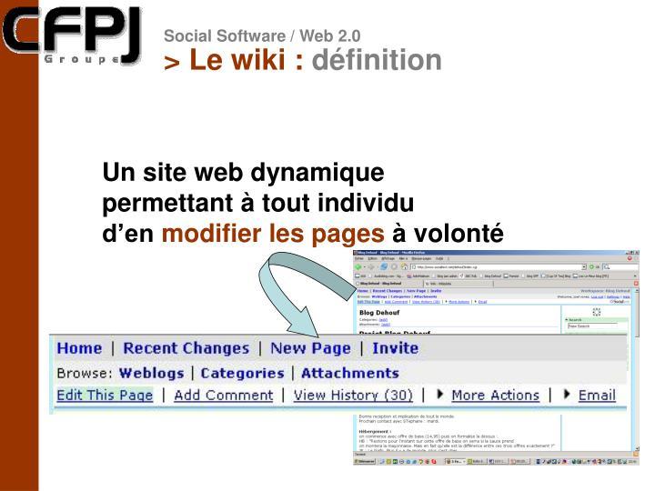 > Le wiki :
