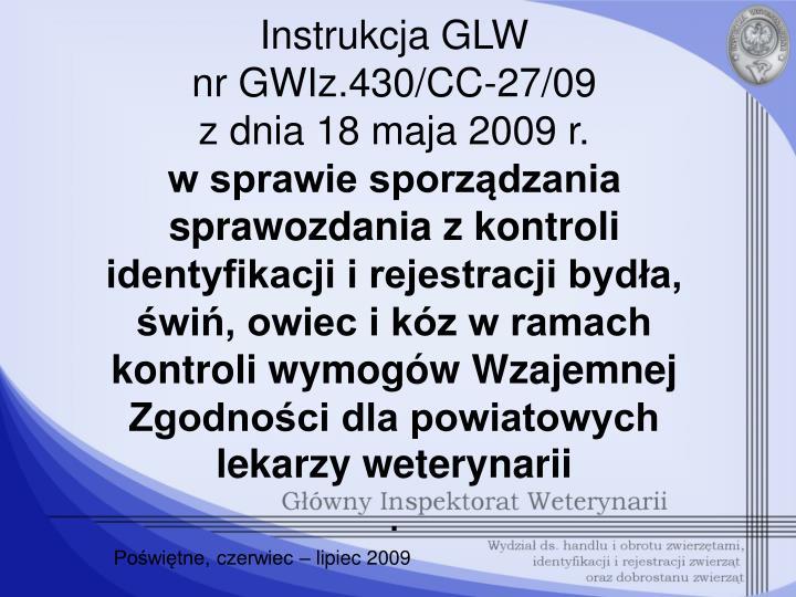 Instrukcja GLW