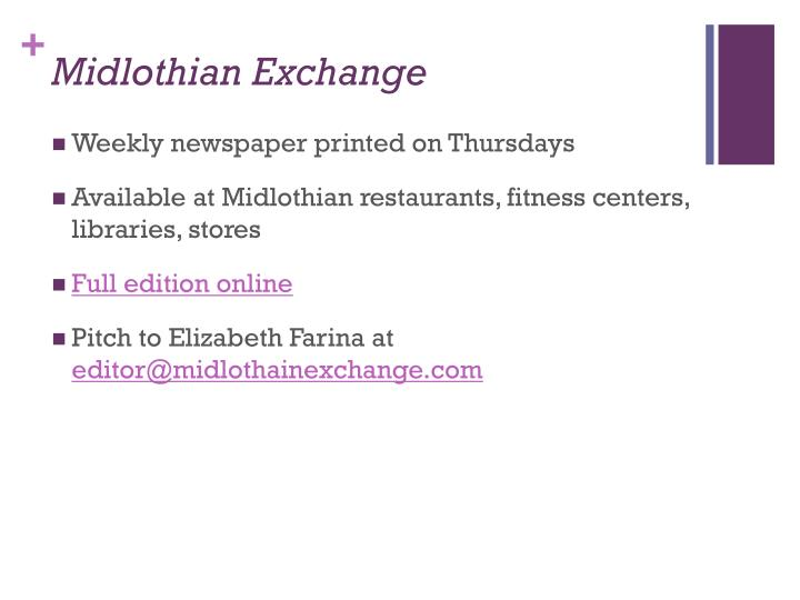 Midlothian Exchange