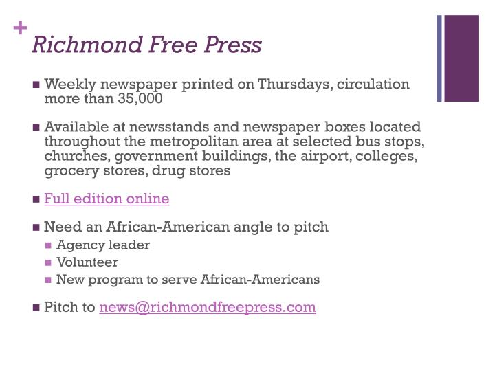 Richmond Free Press
