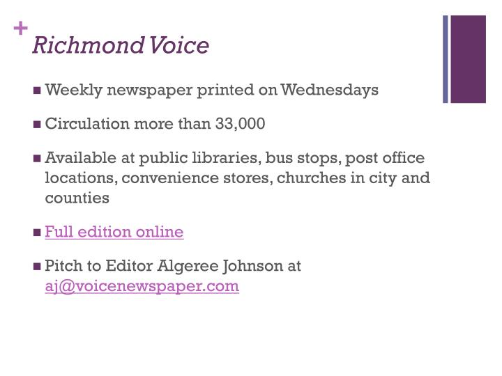 Richmond Voice
