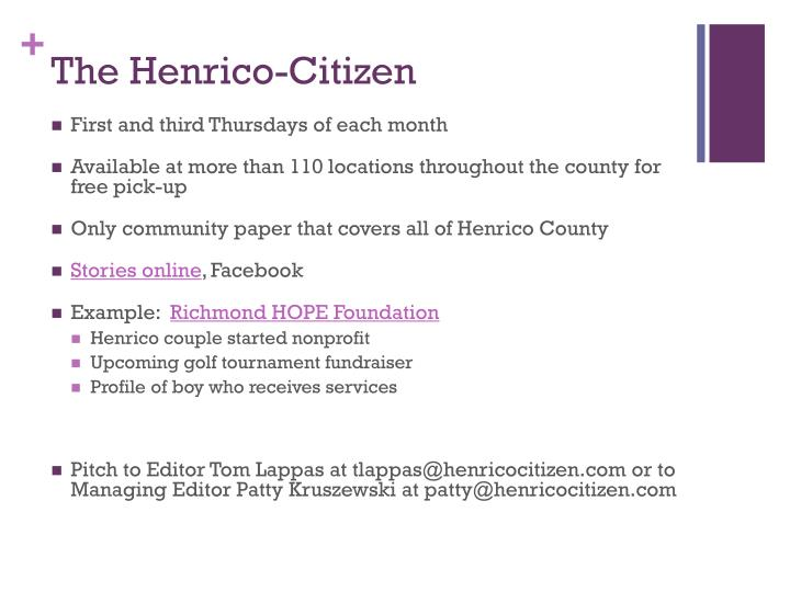 The Henrico-Citizen
