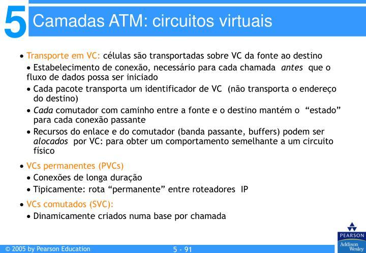 Transporte em VC: