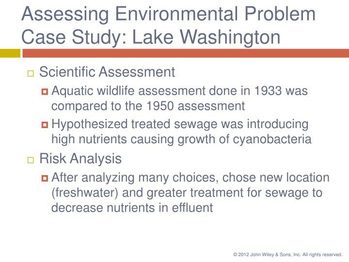 Assessing Environmental Problem