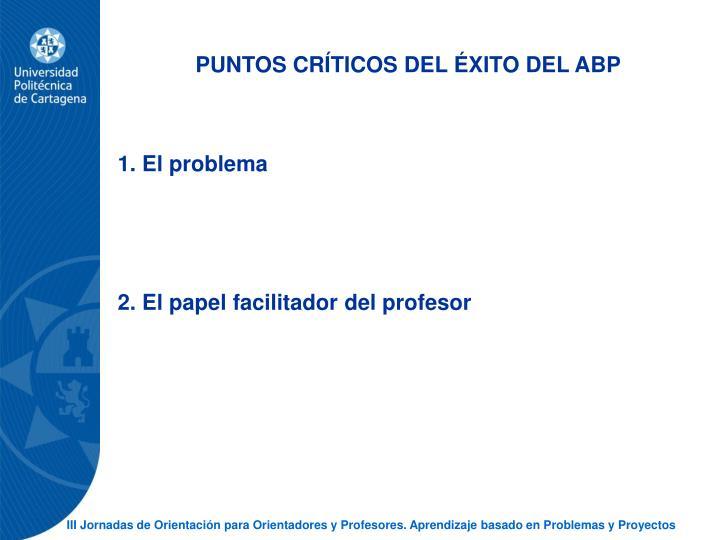 PUNTOS CRTICOS DEL XITO DEL ABP
