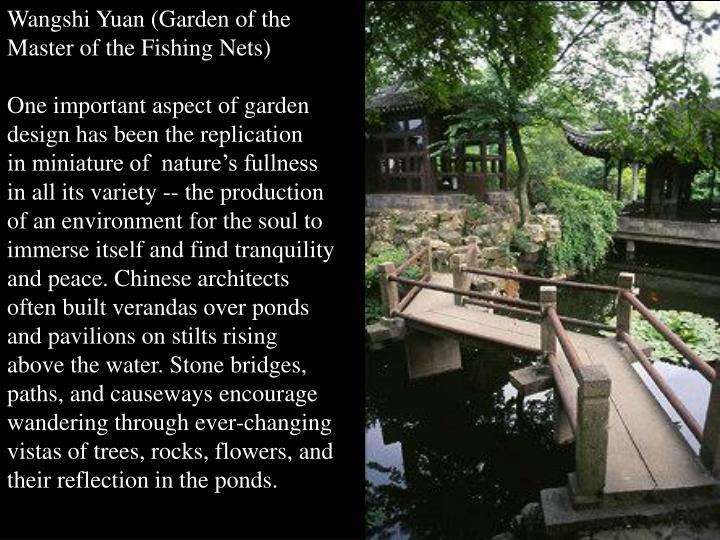 Wangshi Yuan (Garden of the