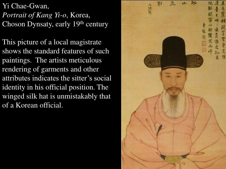 Yi Chae-Gwan,