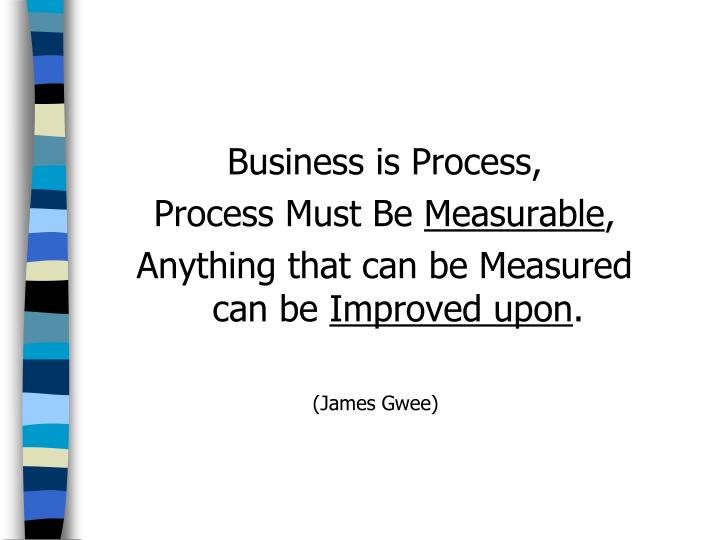 Business is Process,