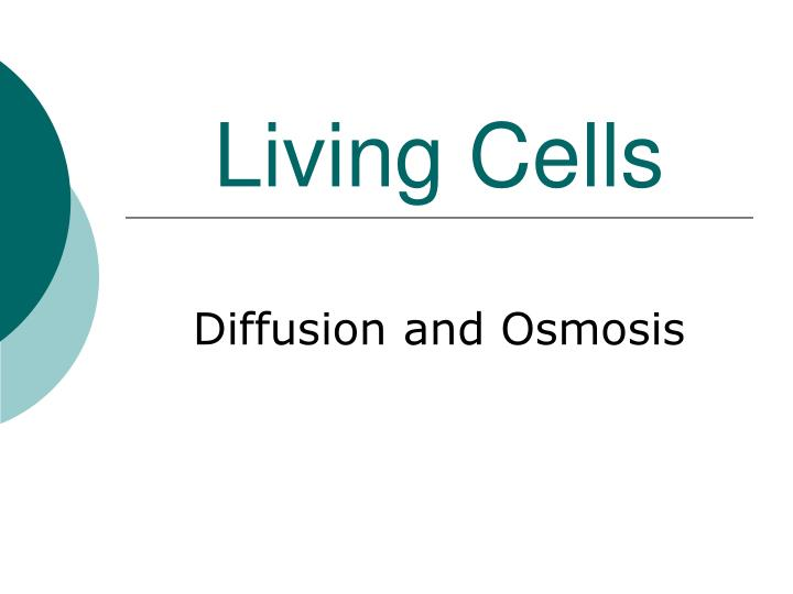 Living Cells