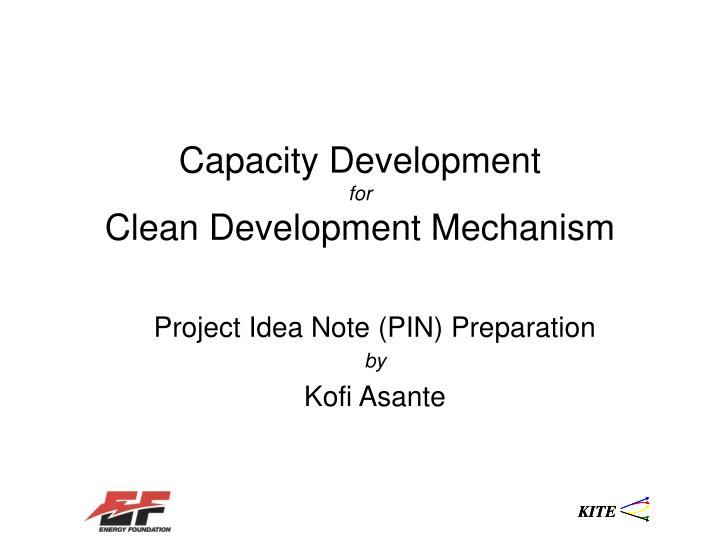 cleaner development mechanism