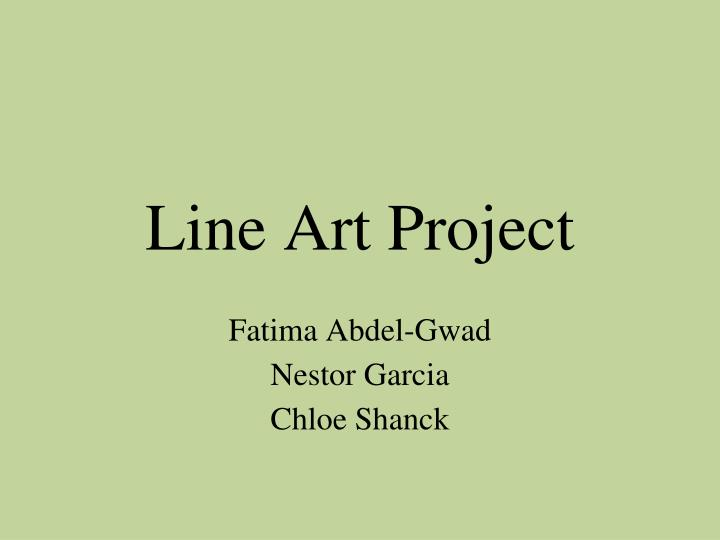 Line Art Project