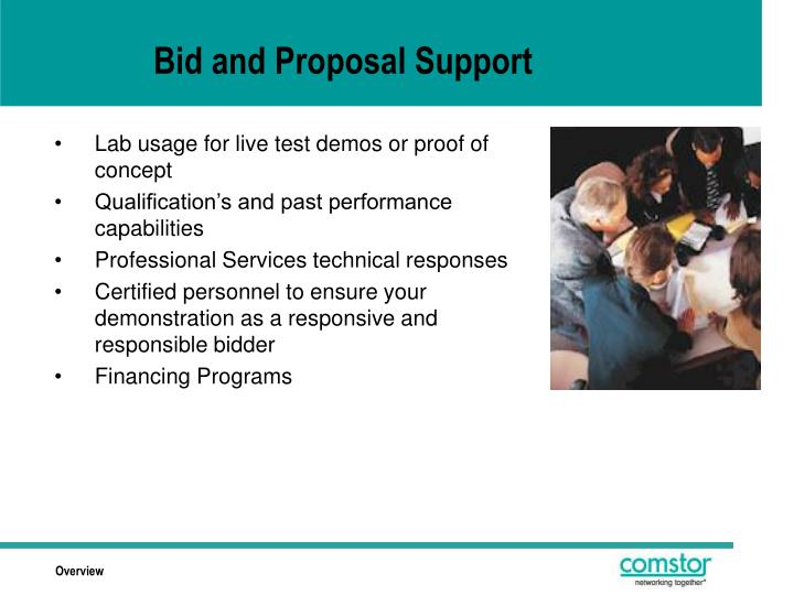 Bid and Proposal Support